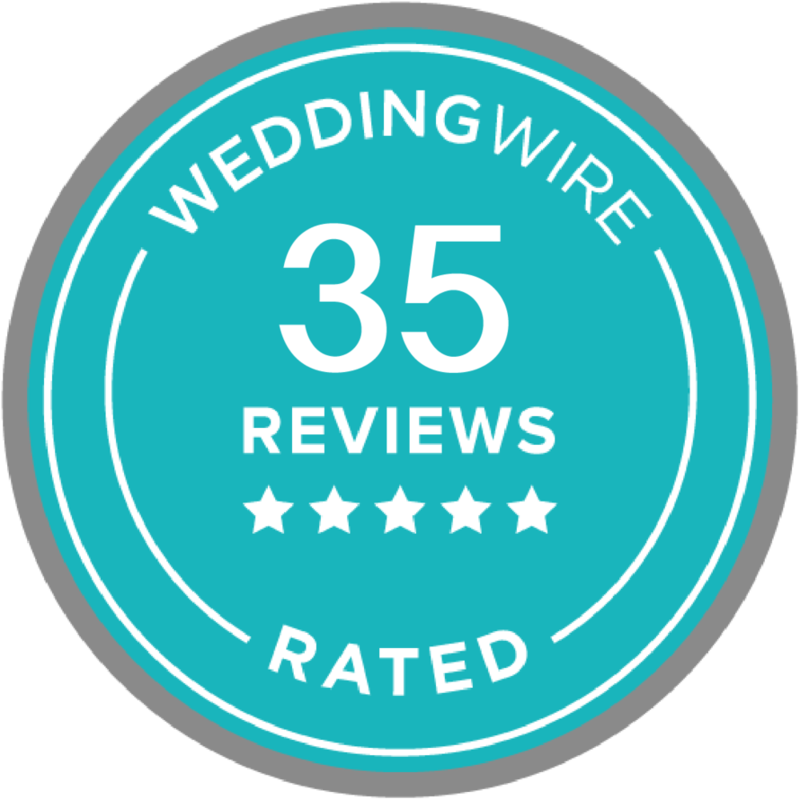 Wedding Wire Rated with 35 Reviews