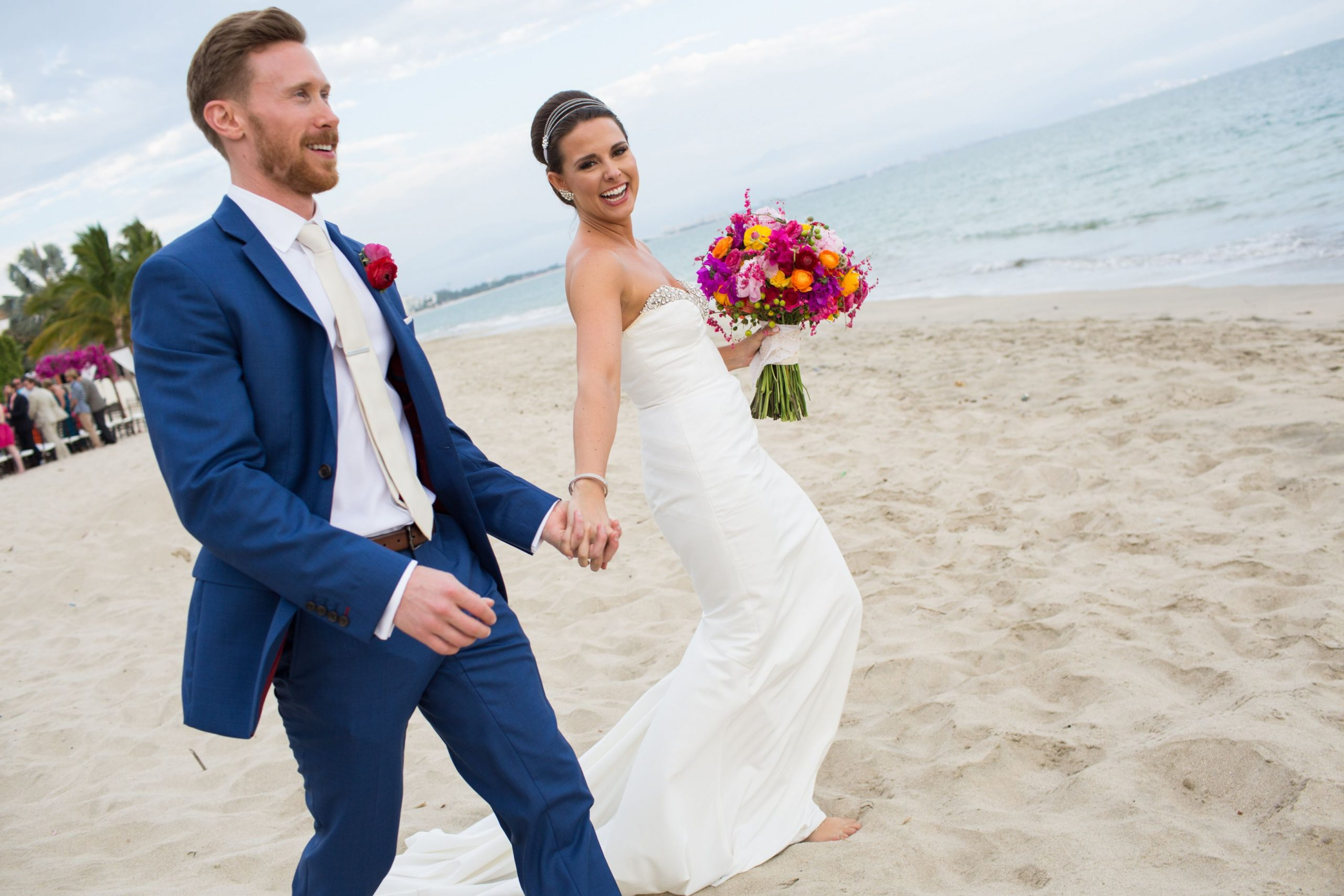Vibrant Puerto Vallarta Wedding