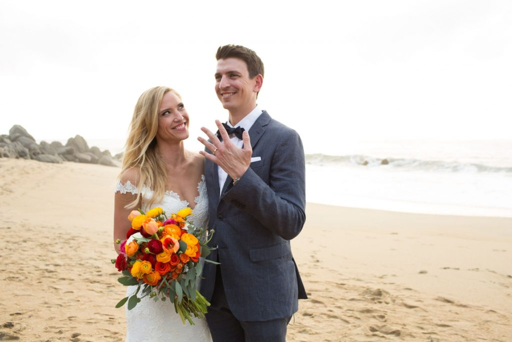 Natalie and Wes tied the knot after the longest and sweetest engagement in the history of The Dazzling Details at this Sayulita Mexico destination wedding