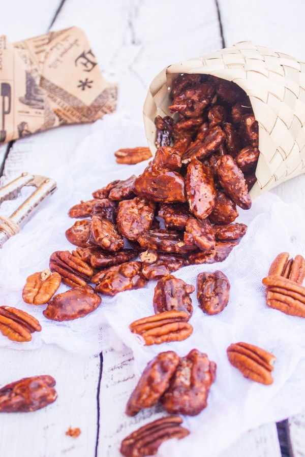 Sweet roasted nuts are a great addition to a Mexico welcome bag!